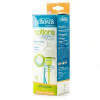 Бутылочка для кормления с широким горлышком 270 мл 91005 Natural Flow®, Dr. Brown's